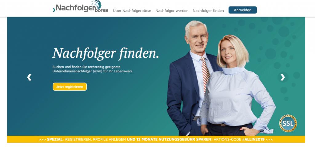 Screenshot NachfolgerBoerse